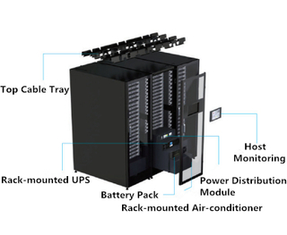 All-in-Rack Cabinet-Wanma Technology IDC Contributing to New Infrastructure of 5G
